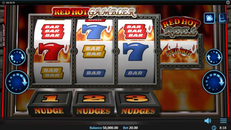 Red Hot Gambler :: Main Game Board