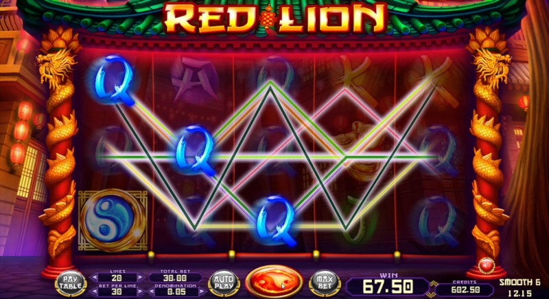 Red Lion :: Multiple winning paylines