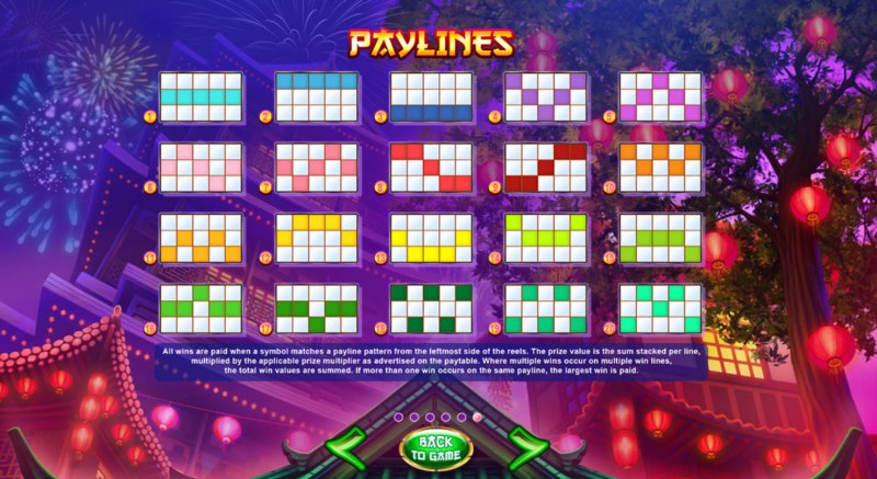Red Lion :: Paylines 1-20