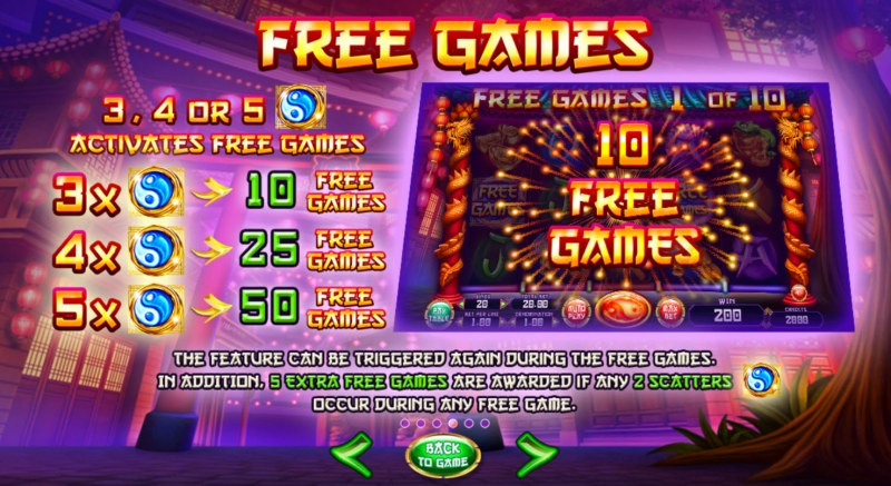 Red Lion :: Free Spins Rules