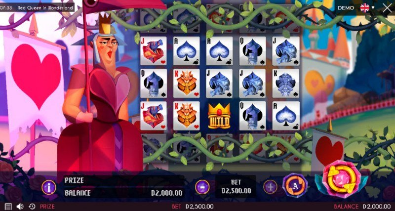 Play slots at Win Monaco: Win Monaco featuring the Video Slots Red Queen in Wonderland with a maximum payout of $875,000