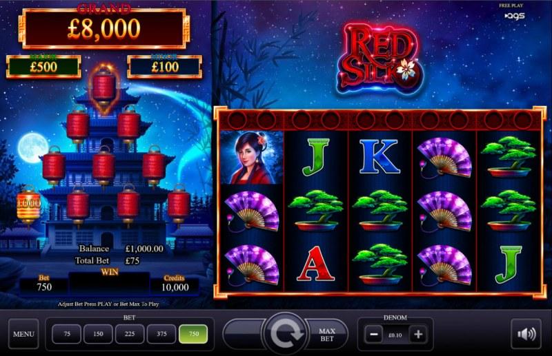 Red Silk :: Main Game Board
