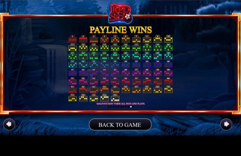 Red Silk :: Paylines 1-50