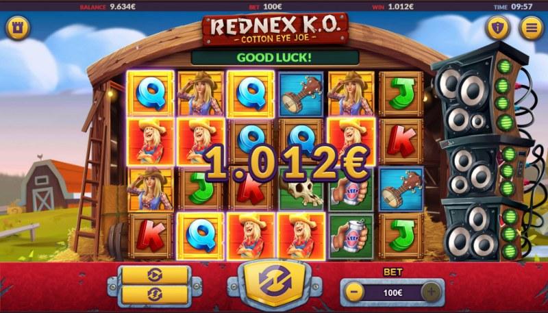 Rednex K.O. :: A five of a kind win
