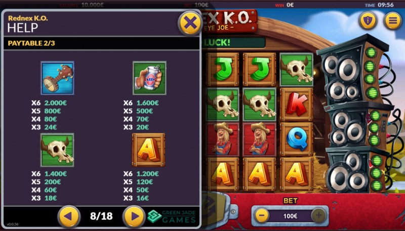 Rednex K.O. :: Paytable - Medium Value Symbols