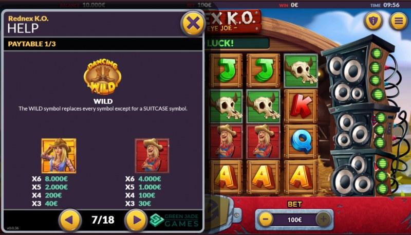 Rednex K.O. :: Paytable - High Value Symbols