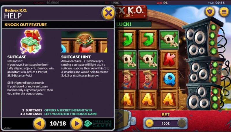 Rednex K.O. :: Scatter Symbol Rules
