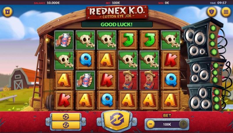 Rednex K.O. :: Base Game Screen