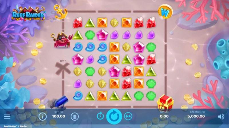 Reef Raider :: Base Game Screen