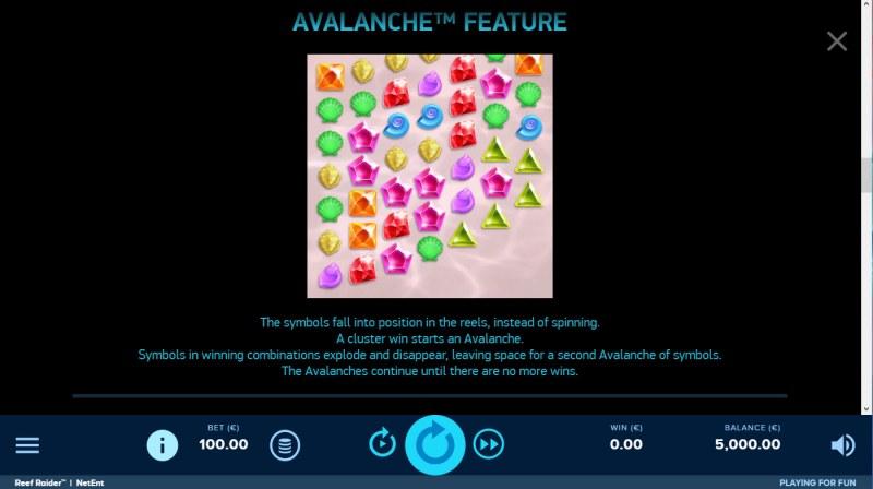 Reef Raider :: Avalanche Feature