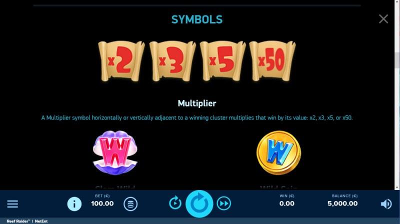 Reef Raider :: Multipliers
