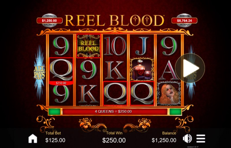 Reel Blood :: Four of a kind