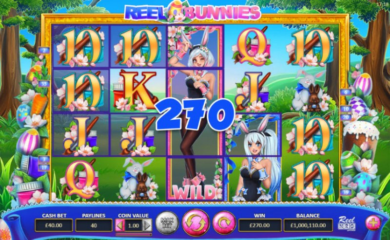 Reel Bunnies :: Multiple winning paylines