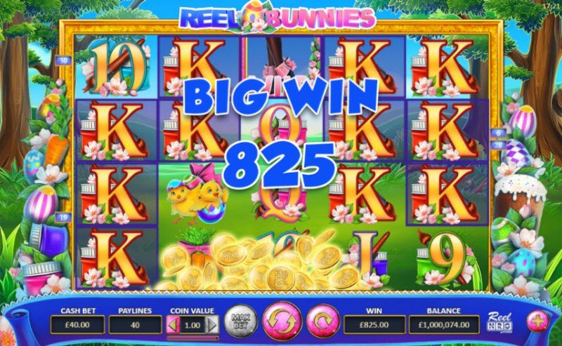 Reel Bunnies :: Big Win