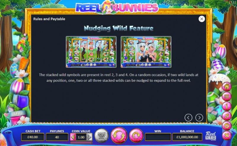 Reel Bunnies :: Nudging Wild Feature