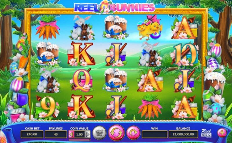 Reel Bunnies :: Main Game Board