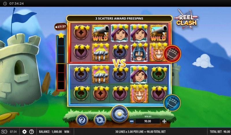 Reel Clash :: Main Game Board