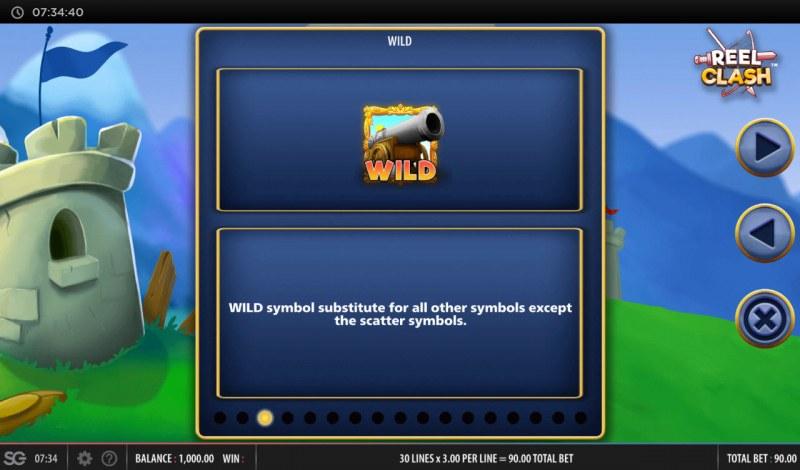 Reel Clash :: Wild Symbol Rules