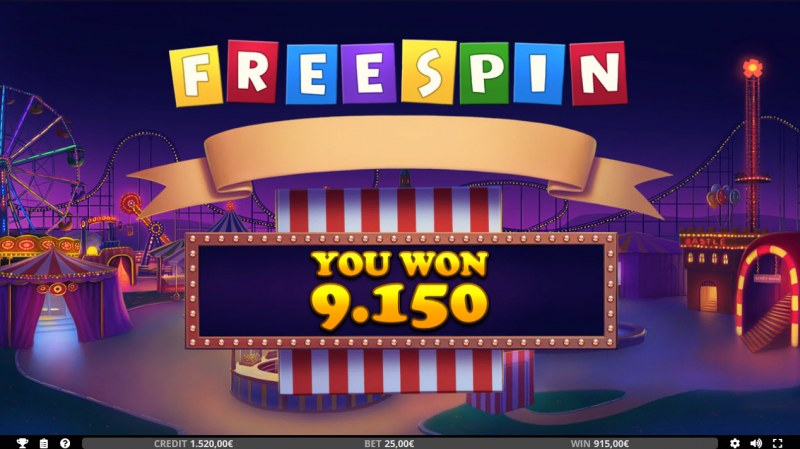 Reel Coaster :: Total free spins payout