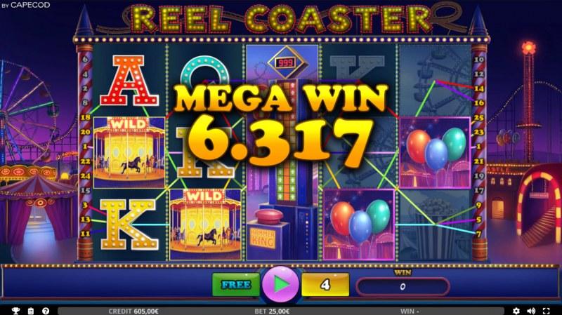 Reel Coaster :: Mega Win