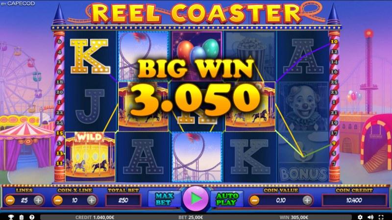 Reel Coaster :: Big Win
