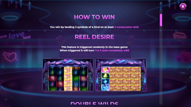 Reel Desire :: How To Play