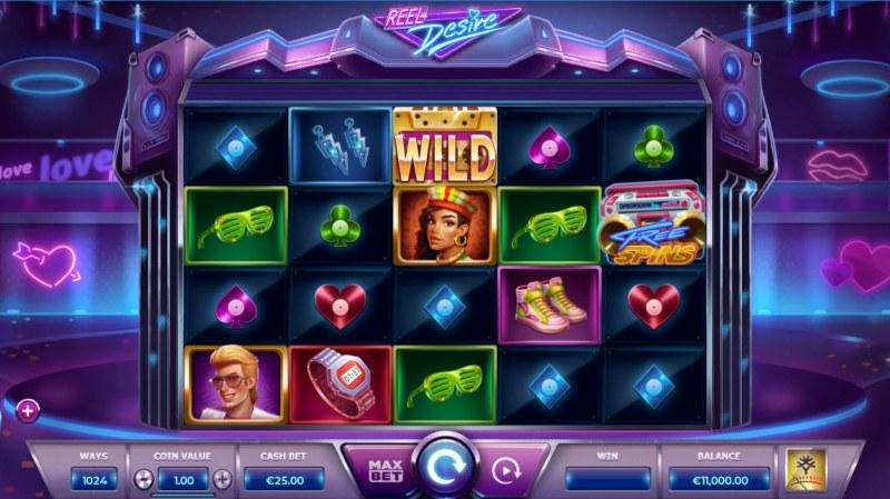 Reel Desire :: Main Game Board