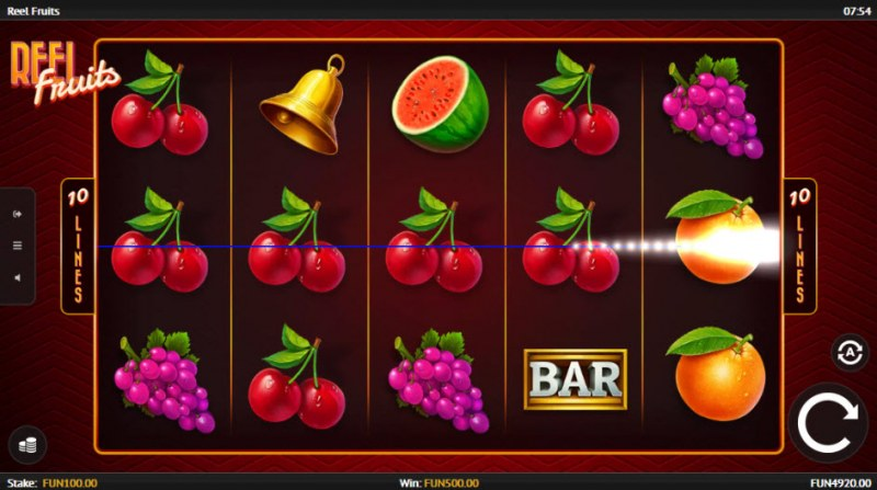 Reel Fruit :: Four of a kind Win