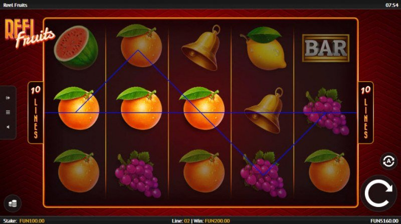 Reel Fruit :: A three of a kind win