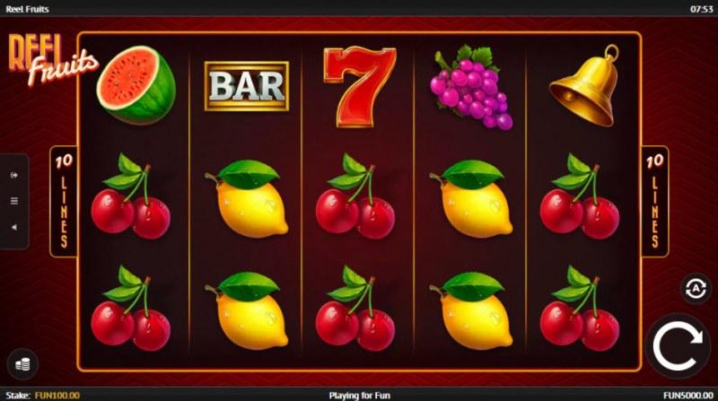 Reel Fruit :: Main Game Board