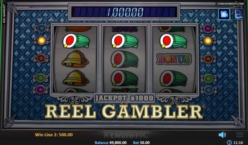 Reel Gambler :: Three of a kind