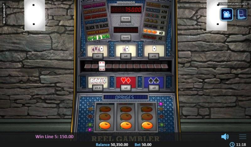 Reel Gambler :: A full house