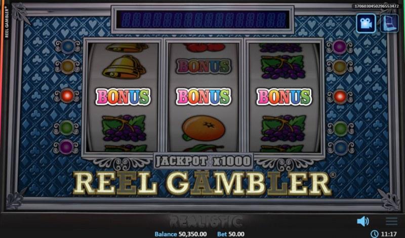 Reel Gambler :: Bonus game triggered