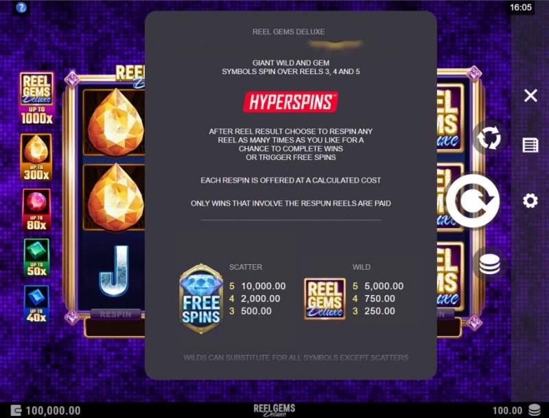 Reel Gems Deluxe :: Hyperspins