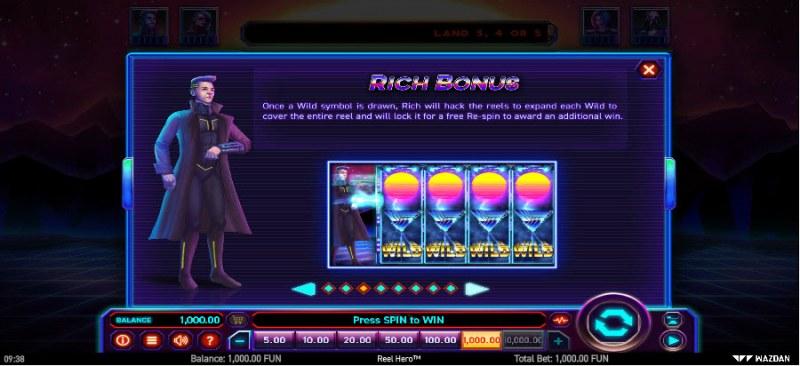 Reel Hero :: Rich Bonus