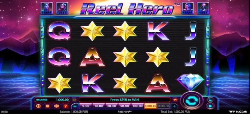 Reel Hero :: Main Game Board