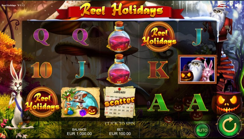 Reel Holidays :: Base Game Screen