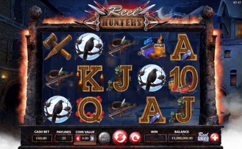 Reel Hunters :: Main Game Board