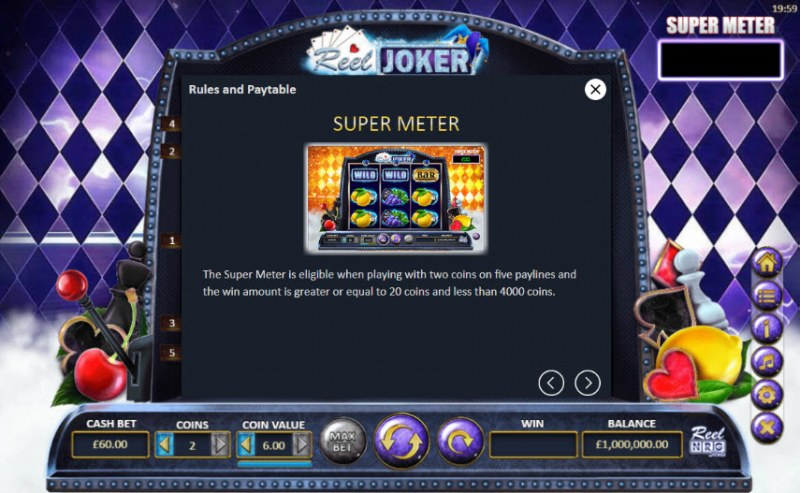 Reel Joker :: Super Meter