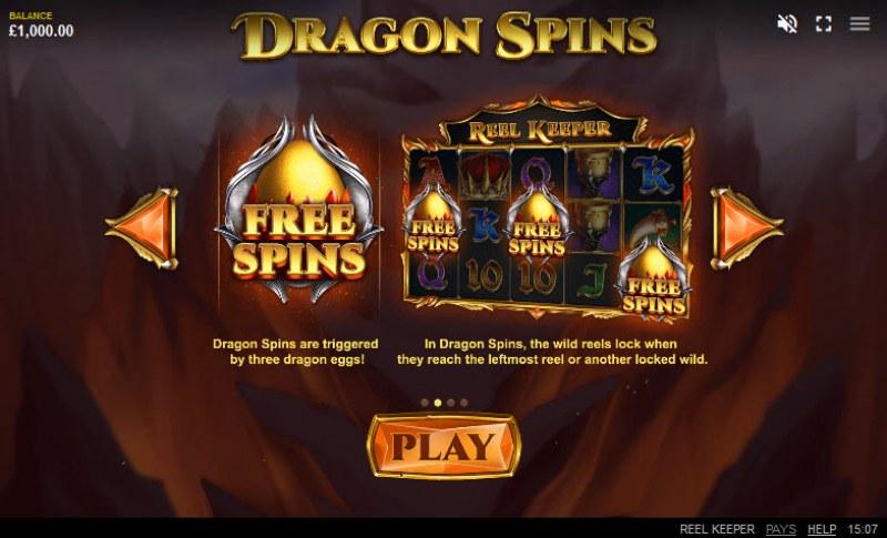 Reel Keeper :: Dragon Spins