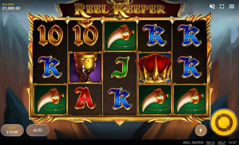 Play slots at Wildz Casino: Wildz Casino featuring the Video Slots Reel Keeper with a maximum payout of $60,700