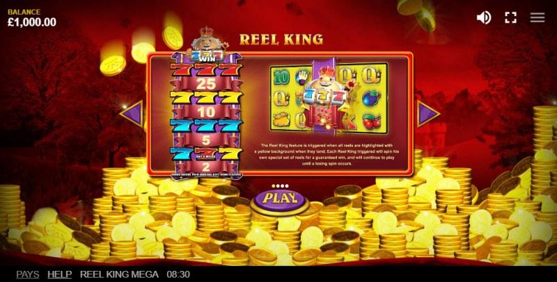 Reel King Mega :: Feature Rules