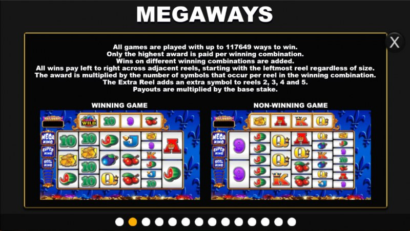 Reel King Megaways :: Up to 117649 Megaways