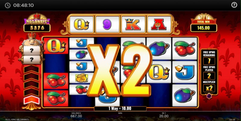 Reel King Megaways :: Win Multiplier