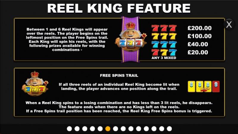 Reel King Megaways :: Reel King Feature