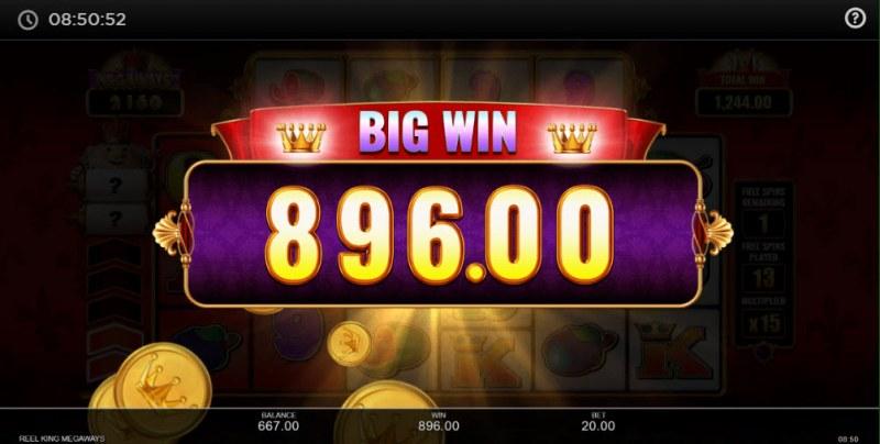 Reel King Megaways :: Big Win