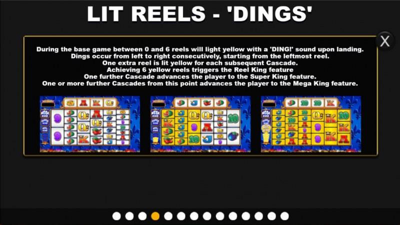 Reel King Megaways :: Feature Rules