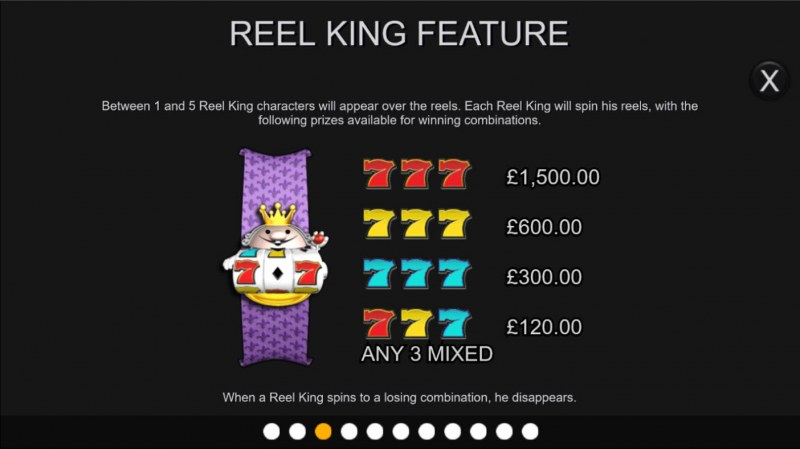 Reel King :: Feature Rules