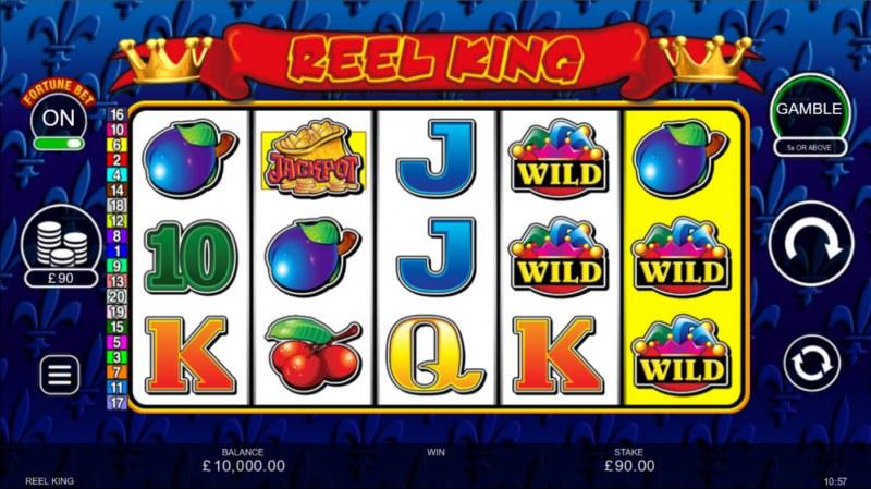 Reel King :: Base Game Screen
