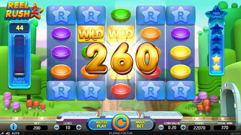 Reel Rush 2 :: Multiple winning combinations